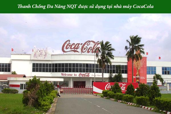 Thanh chống đa năng được tin dùng tại nhà máy Coca Cola
